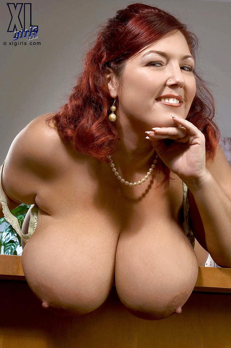Huge saggy tits mature