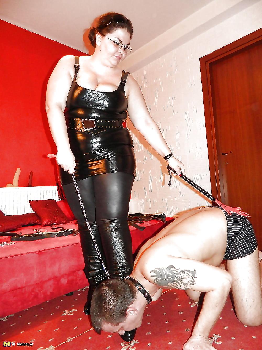 Fat dominatrix