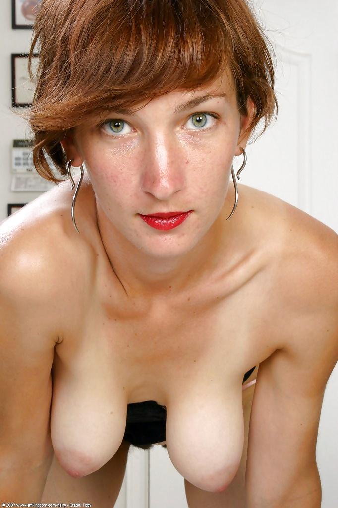 Mature Saggy Tits Outdoors