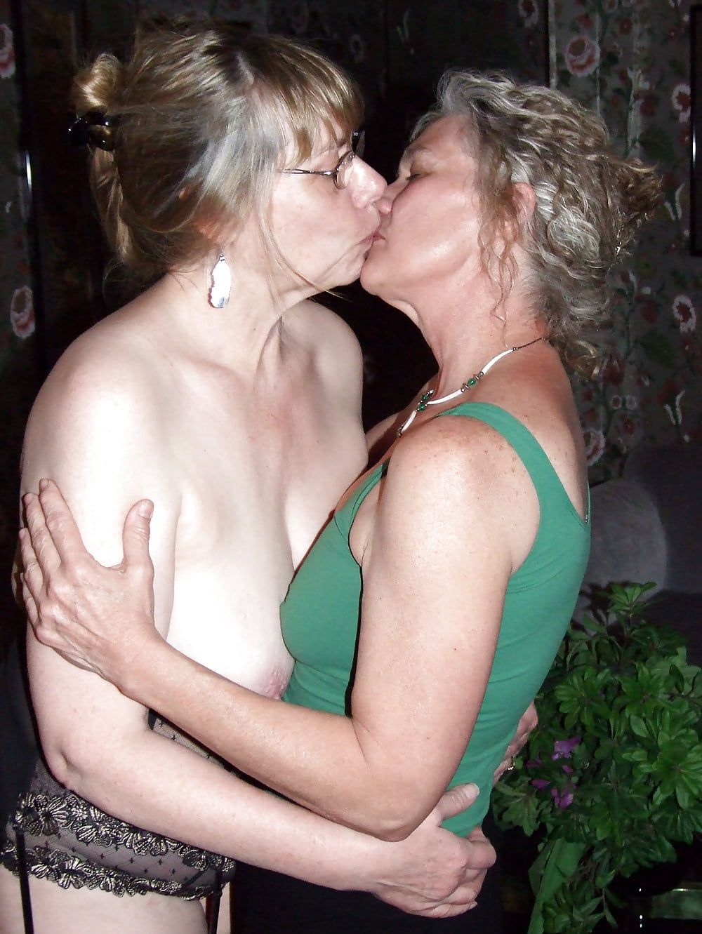 Young Old Lesbians Kissing