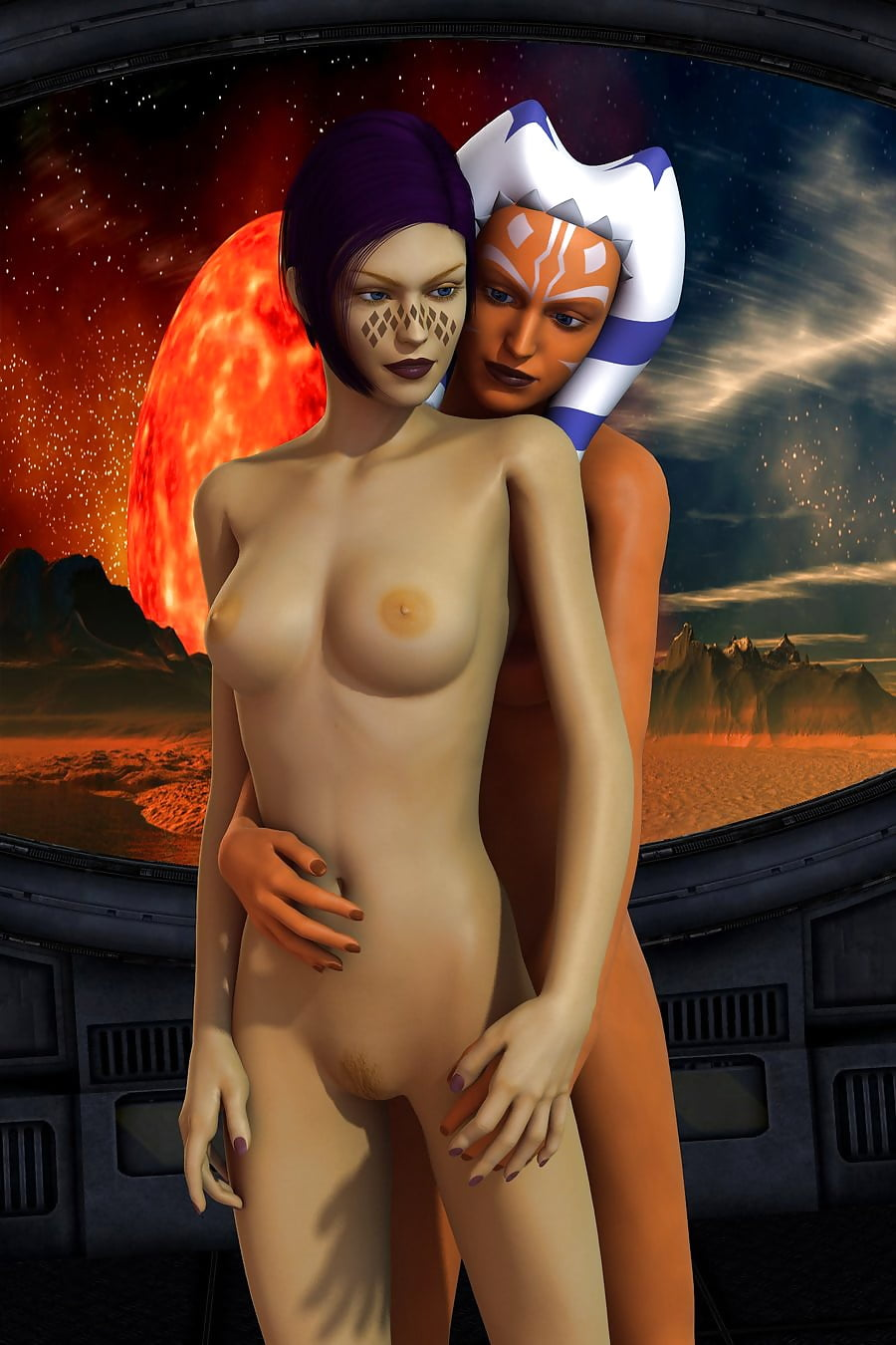 Barris Offer Porno erotic starwars - ahsoka tano & barriss offee - gf lesbi