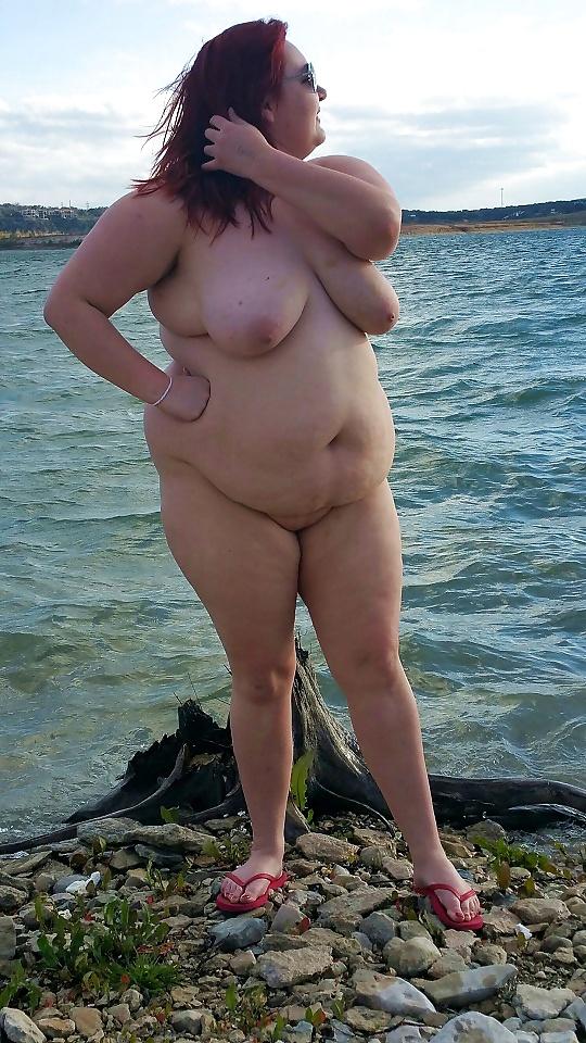 Фото голых пышечек на пляже