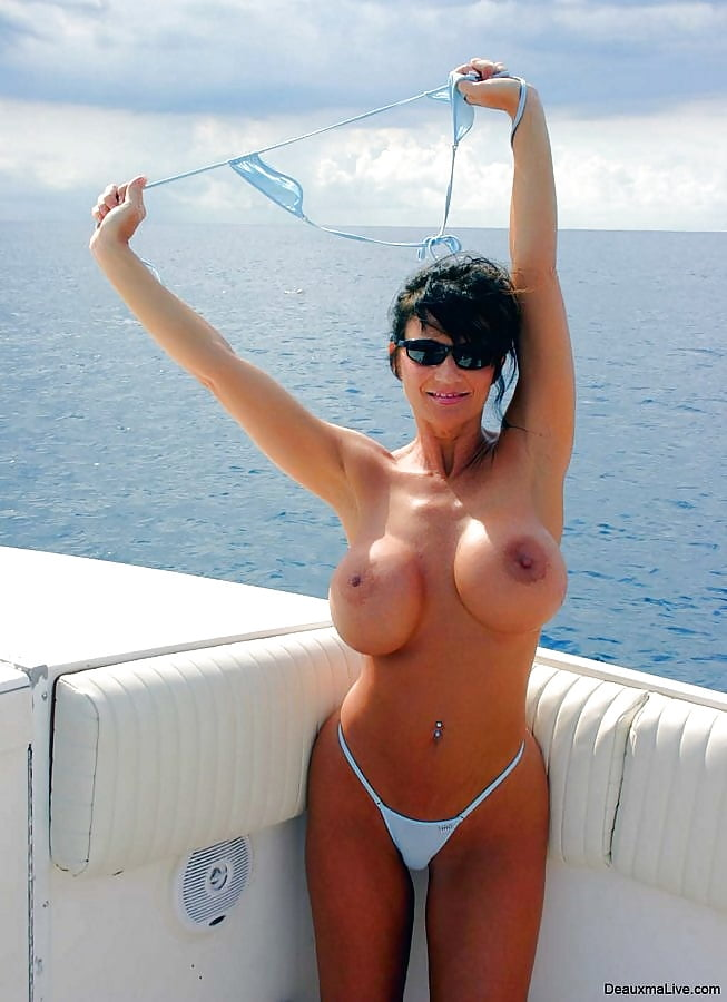 Sexy boat milf, increase dick girth