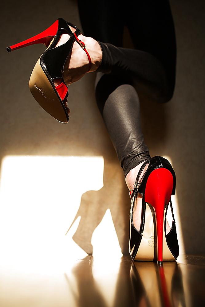High heel sex