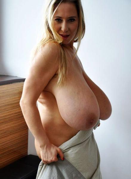 boob mom old Big