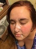 cum on her face