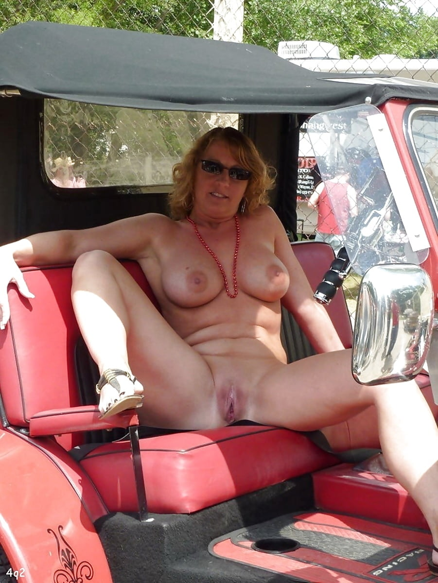 All matures nude car