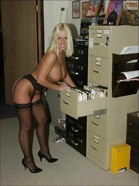 Milfs at work amateur