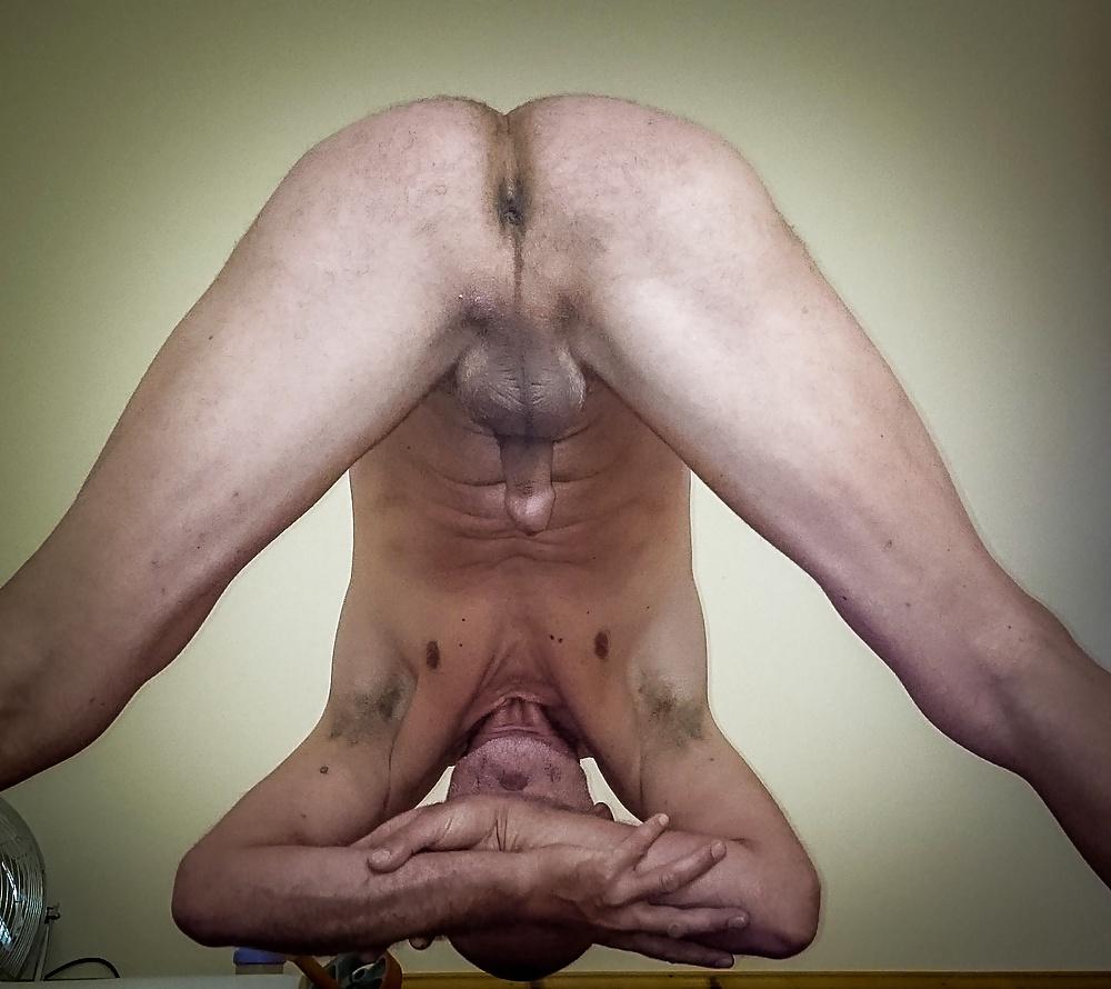 Yoga Man Naked Sex Photo
