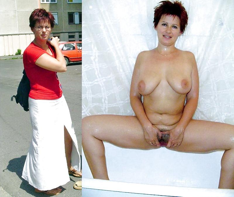 зрелая женщина раздевается фото понимал почему она
