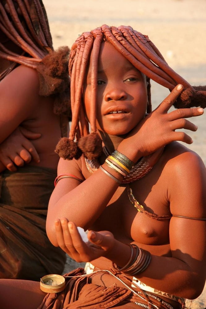 Big Breast African Tribe