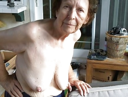 Really old granny anal