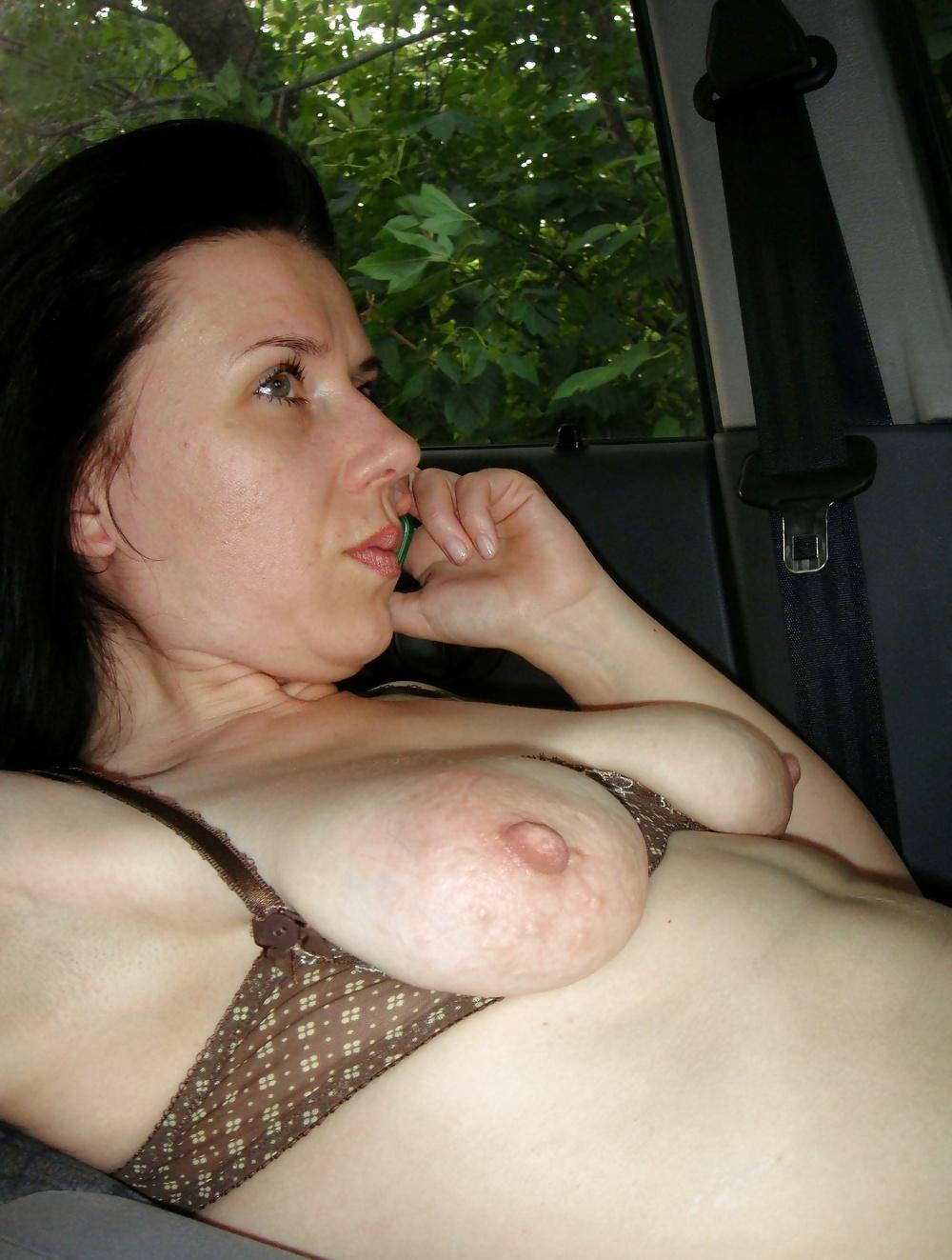 показала грудь мать порно
