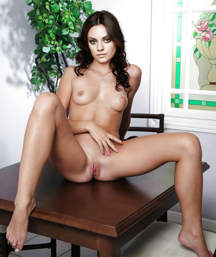 Mila Kunis Fully Nude For Magazine
