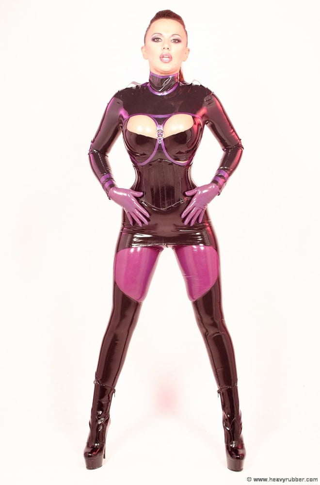 Latex dominatrix xxx