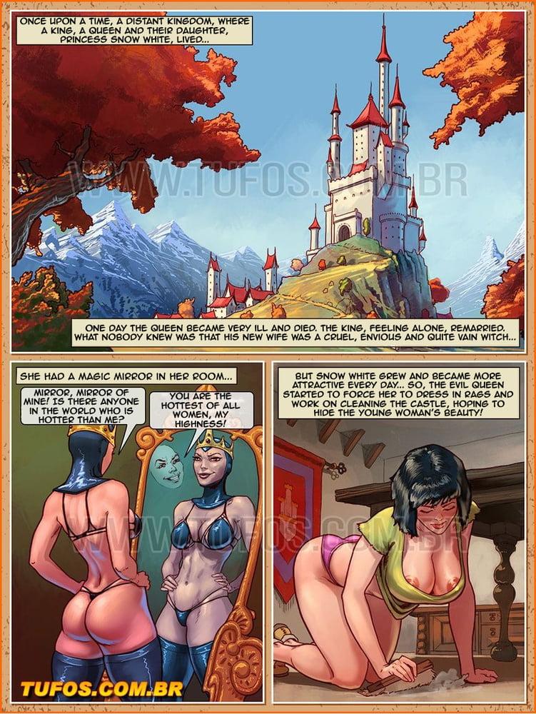 Tales Graandmaa esn't Tell - Snow White And The Seven Dwarfs - 15 Pics