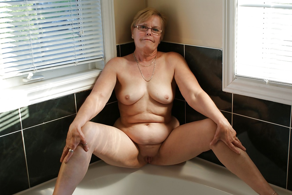 Granny Topless Nude