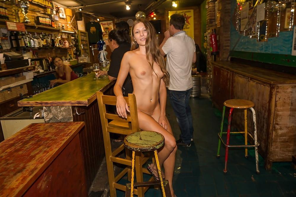 Milf nude bar